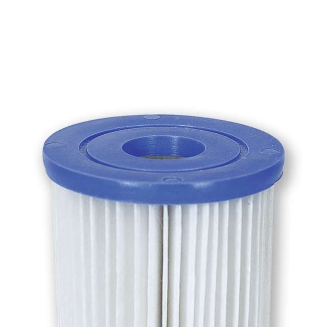 10 x 58168E-BW Bestway, Type V & Type K 330 GPH Replacement Filter Cartridge (10 Pack) 2