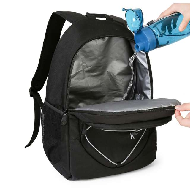 TO0260028A001 TOURIT TO0260028A001 Loon Insulated Lightweight Lunch Cooler 28 Can Backpack 1