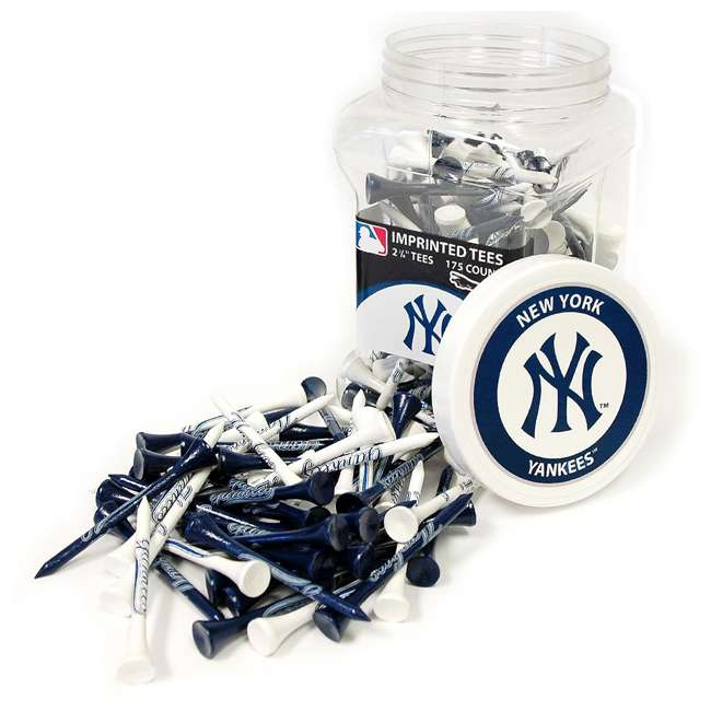 96851 Team Golf MLB New York Yankees Regulation Golf Tees, 175 pack