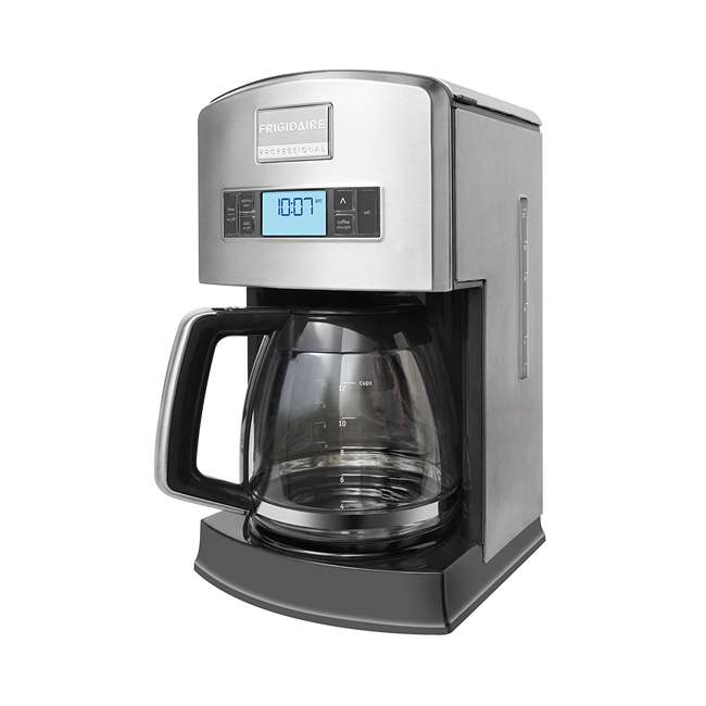FPAD12D7PS Frigidaire Professional 12-Cup Stainless Steel Drip Coffee Maker (2 Pack) 1