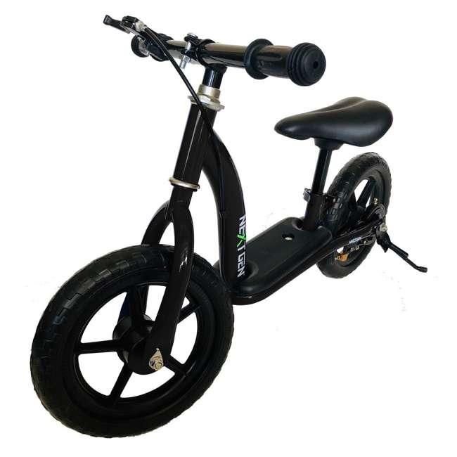 12BALBK-BLK NextGen 12BALBK-BLK 12 inch Adjustable Toddler Balance Training Bike, Black 1