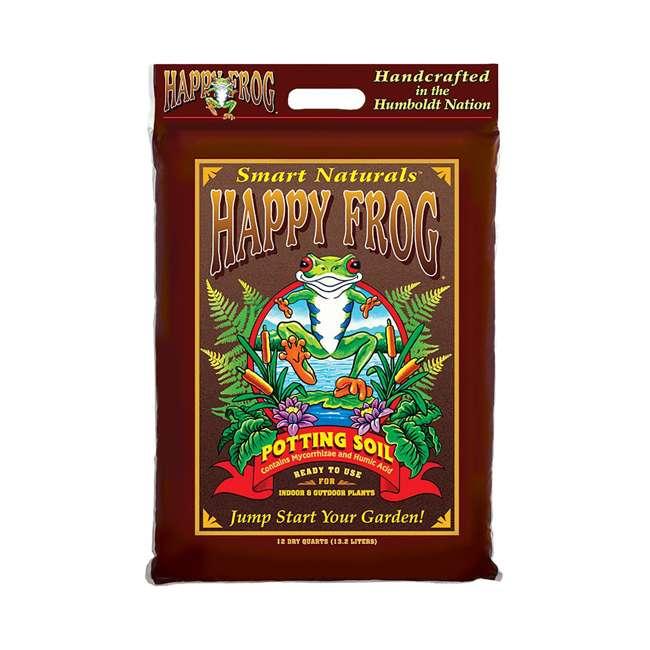 FX14082 Fox Farm FX14082 Happy Frog 12 Quart Bag of Organic Garden Potting Soil, Brown