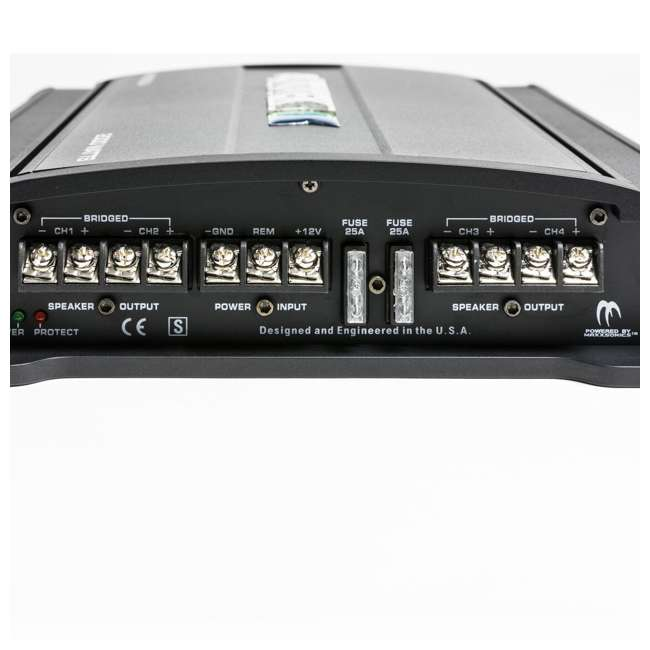 MM2020.4 Autotek MM2020.4 Mean Machine 2000-Watt 4-Channel Bridgeable Amp 3