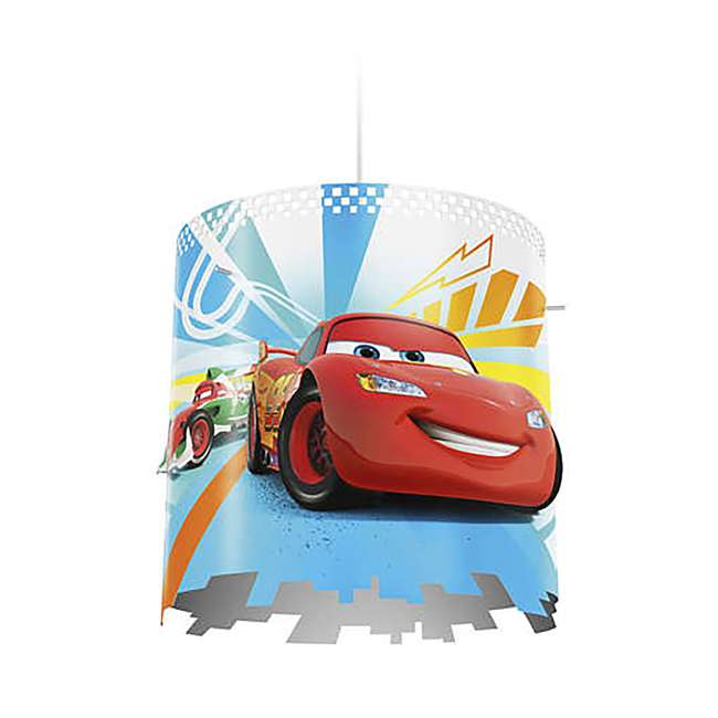 8 x PLC-7175132U0 Philips Disney Pixar Cars McQueen Kids Light Lampshade Only (8 Pack) 1