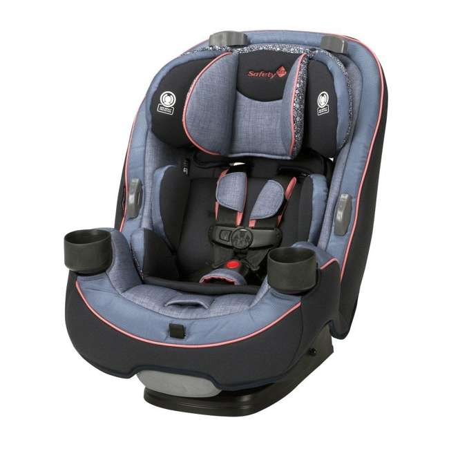 CC138DDO Safety 1st Grow and Go 3-in-1 Convertible Car Seat, Pink Lindy 1