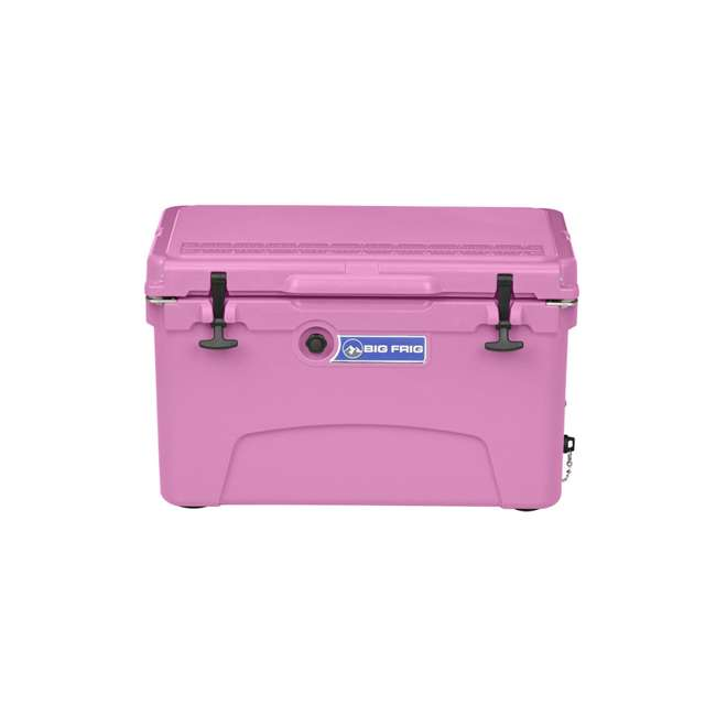 BFDB45-PK Big Frig Denali 45 Quart Insulated Cooler with Cutting Board and Basket, Pink 1
