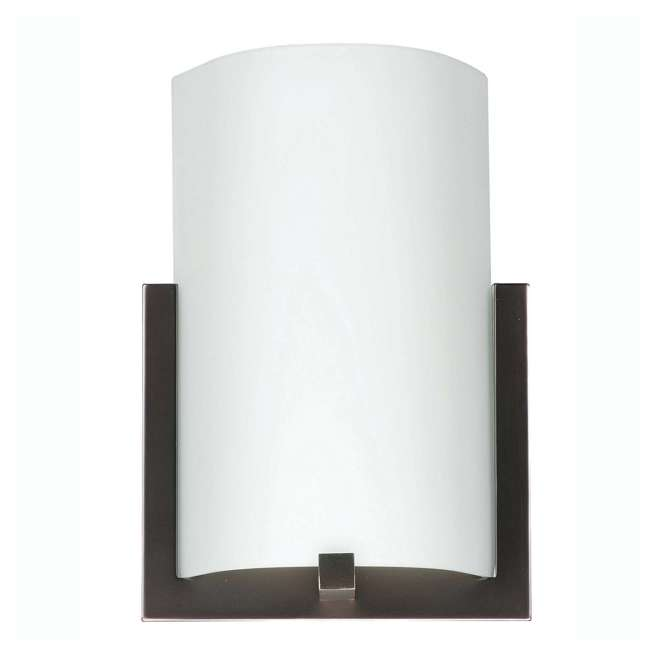 3 x PLC-FL0003870 Philips Forecast 12-Inch Bow 3-Light Wall Sconce, Bronze (3 Pack) 1