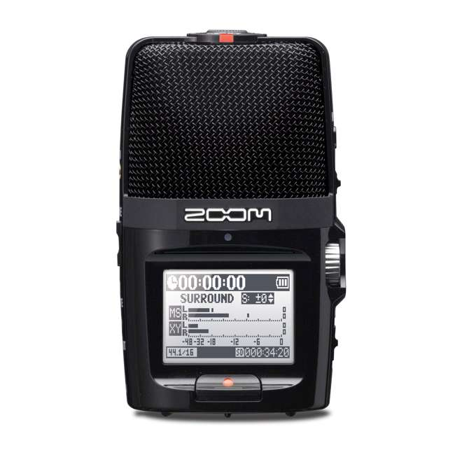 ZH2N + TH02-B Zoom Digital Audio Portable Hand Recorder with TASCAM Home & Studio Headphones 5