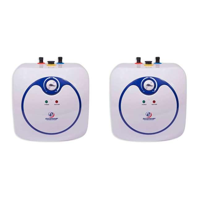 EM-4.0 Eccotemp EM 4 Gallon Under Sink Electric Mini Tank Hot Water Heater (2 Pack)
