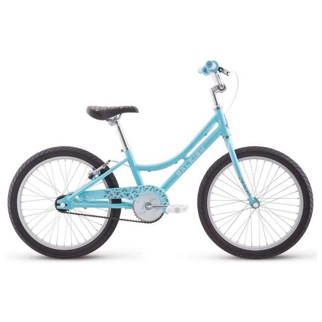 14-1510100 Raleigh Bikes Lightweight Frame Jazzi 12 Kids Bike with Training Wheels, Blue