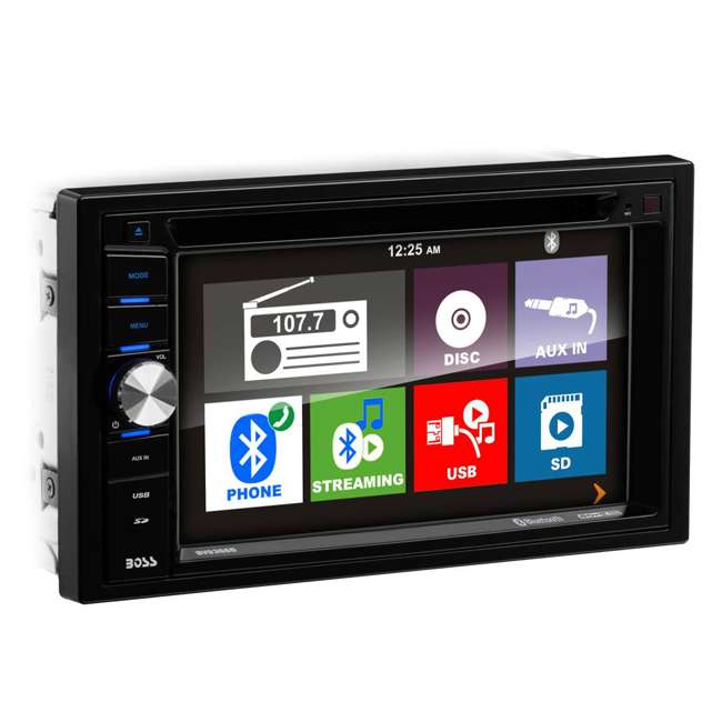 "BV9366B Boss BV9366B 6.2"" 2-DIN In-Dash DVD/MP3 Touchscreen Car Receiver with Bluetooth 2"