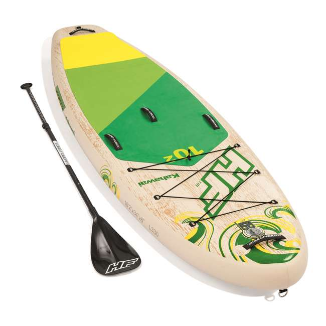 65308E-BW Bestway Hydro-Force Kahawai 10 Foot Inflatable SUP Paddle Board 5