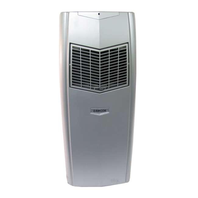 KF9000-SILVER-RB AMCOR KF 9000 BTU Silver Portable Air Conditioner (Refurbished)