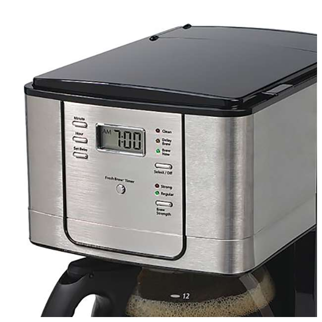 Coffee Maker Clearance : Mr. Coffee 12-Cup Programmable Coffee Maker, Stainless Steel : JWX36S