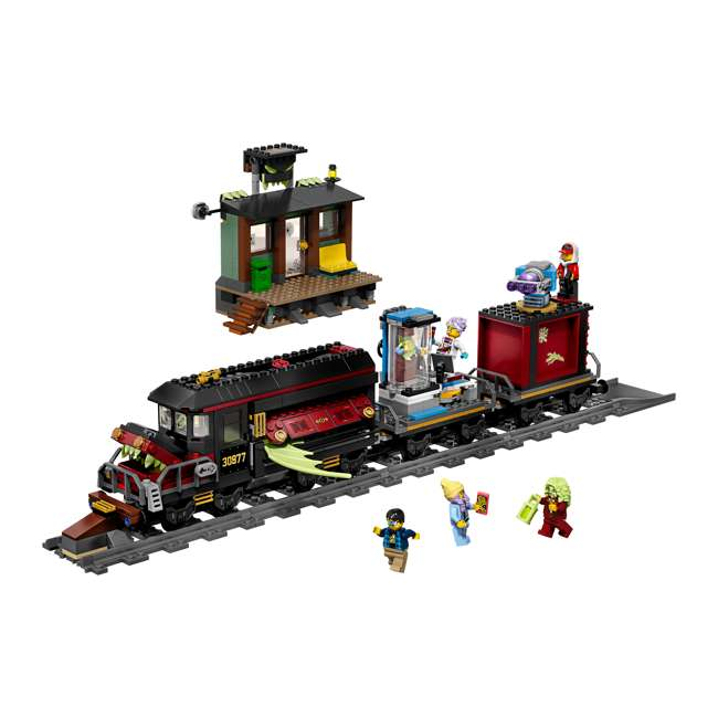 6250516 LEGO AR 70424 Ghost Train Express 689 Piece Block Building Kit w/ 5 Minifigures 4
