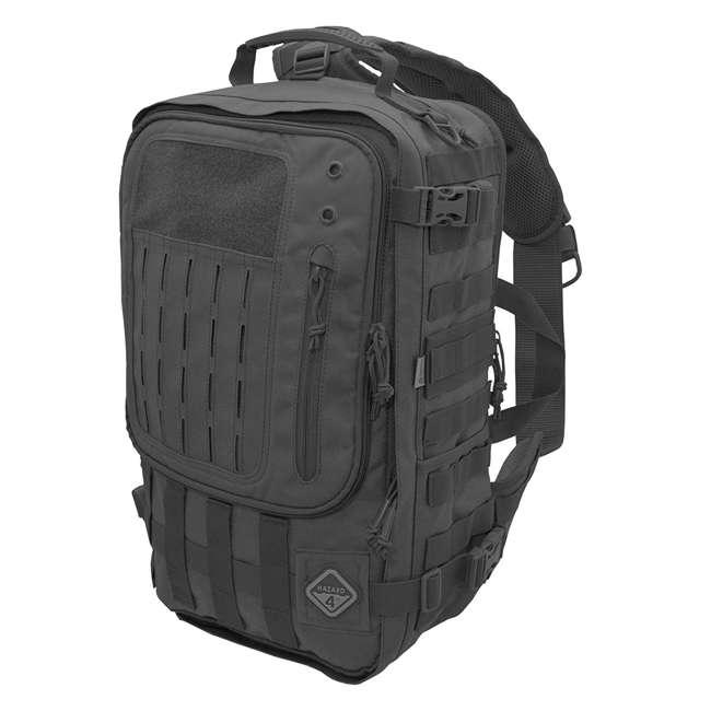 BKP-SWTC-BLK Hazard 4 Tactical Gear Sidewinder Full Sized Laptop Sling Pack Backpack, Black