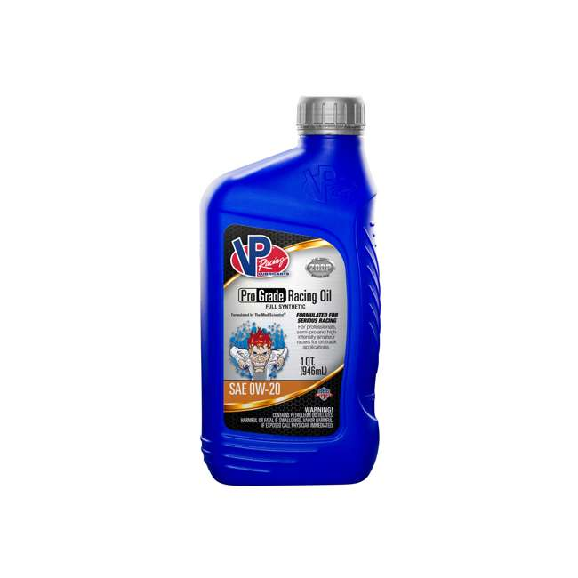 2715 VP Racing Fuels 2715 Full Synthetic Pro Grade Racing Oil, Quart Bottle SAE 0W-20