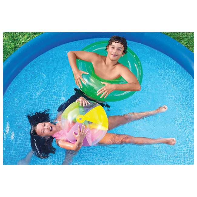 4 x 28120EH Intex Easy Set 10ft x 30ft x 30in Above Ground Inflatable Round Swimming Pool (4 Pack) 5