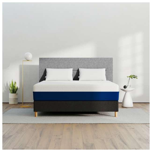 AS2-TXL Amerisleep AS2 Back/Stomach Sleeper Medium Firm Memory Foam Mattress, Twin XL