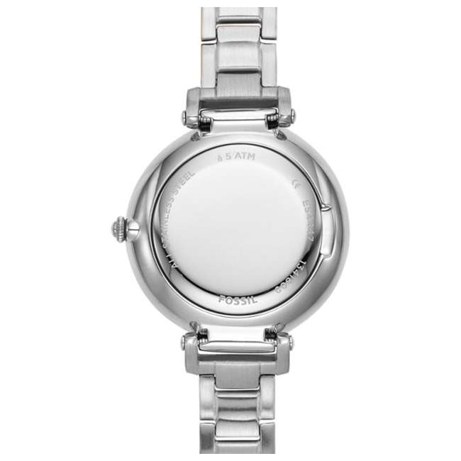 ES4448 Fossil The Kinsey 3-Hand Watch with Silver Bracelet & Face 3