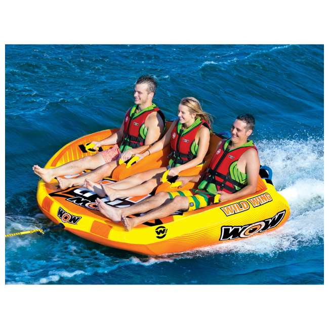 18-1130 World of Watersports Wild Wing 2 Rider Inflatable Tube 5