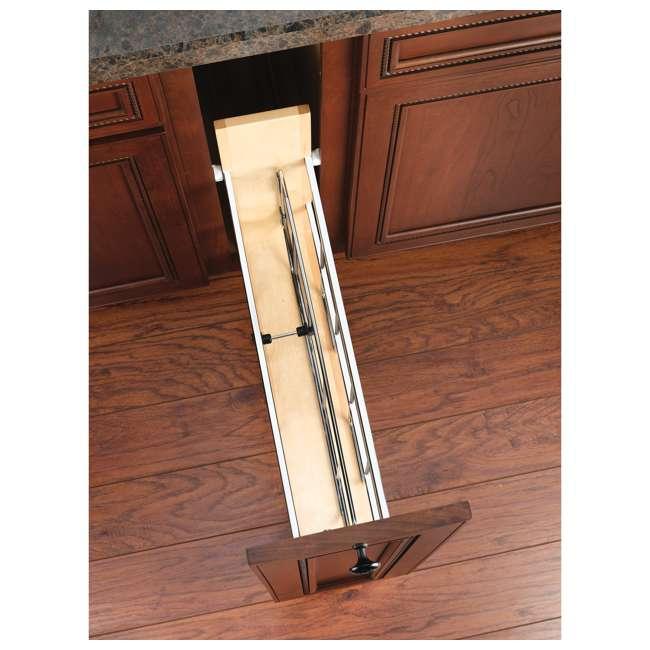 447-BCSC-5C Rev-A-Shelf 447-BCSC-5C 5 Inch Kitchen Pull Out Tray Divider Cabinet Organizer 3