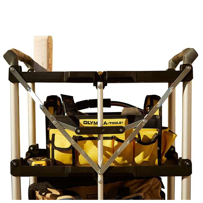 85-188 Olympia Tools 85-188 Pack n Roll Collapsible Storage Service Cart with Wheels 4