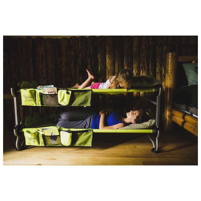 30605BO + 19847N Disc-O-Bed Youth Kid-O-Bunk Cot w/ Foot Pads (4-Pack) 10