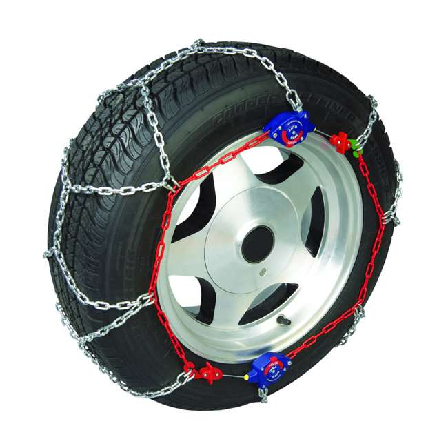 auto trac trucksuv snow tire chains pair  pack