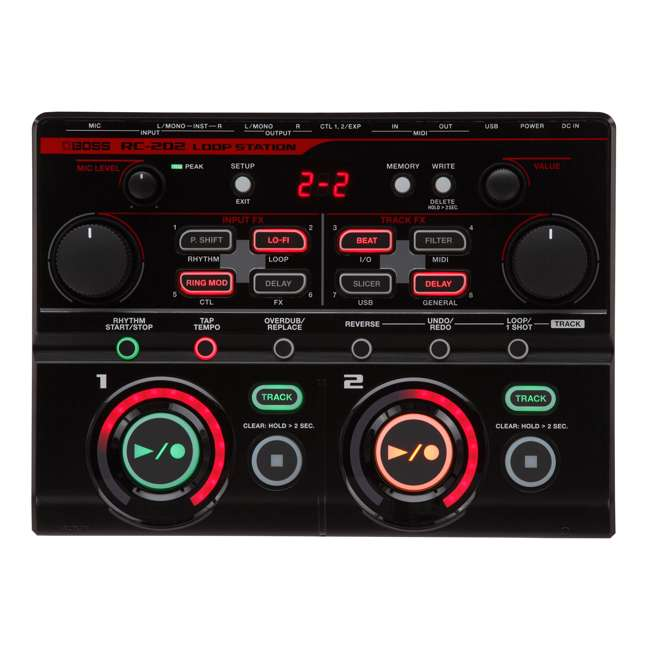 RC-202 Boss RC-202 Tabletop 4-Input 4-Track FX Loop Station (2 Pack) 1