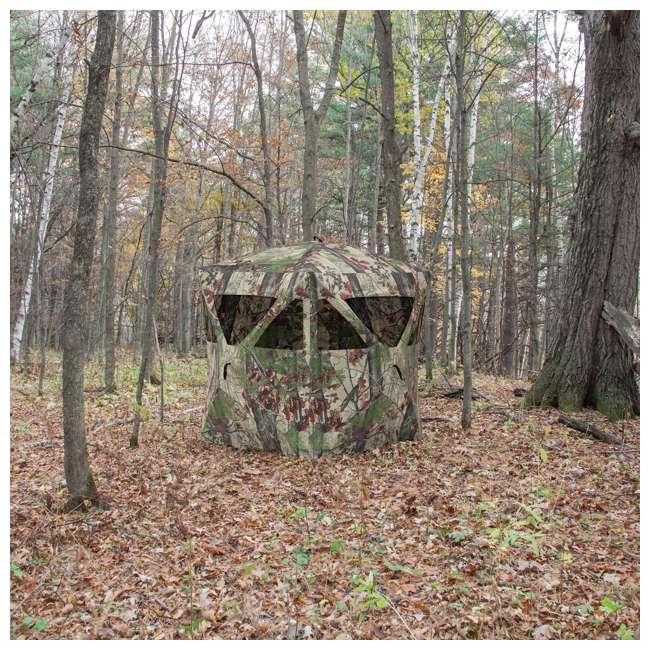 3 x BARR-RA200BW Barronett Blinds Radar Backwoods Lightweight Hunting Ground Blind (3 Pack) 2