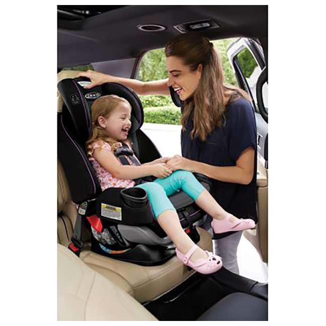 2001872 Graco 2001872 4Ever Extend2Fit 4-in-1 Front and Rear Facing Car Seat, Jodie 1