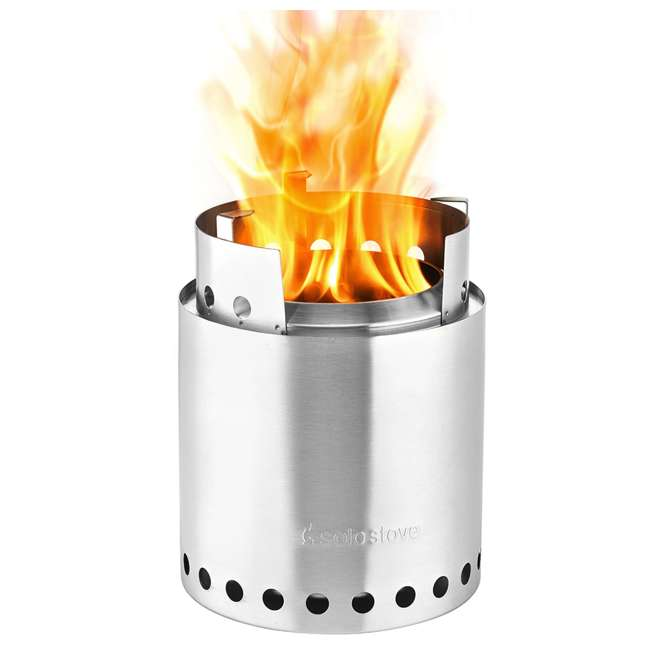 SSCF Solo Stove Campfire Portable Outdoor Wood Burning Camping Backpacking Camp Stove