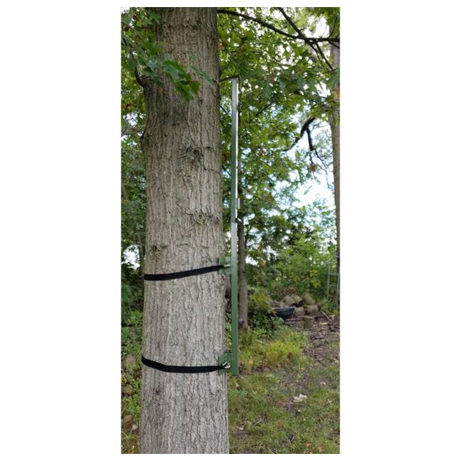 TM100 Cooper Hunting TM100 Steel Tree Mount w/ Straps for Chameleon Hunting Blinds 7