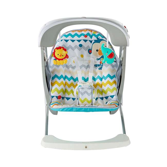 DPV46 Fisher Price Colorful Carnival Take-Along Infant Swing and Seat (2 Pack) 7