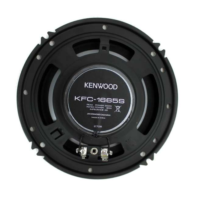 KFC-1666S Kenwood KFC-1665S 6.5-Inch 300W Speakers (4-pack) 3