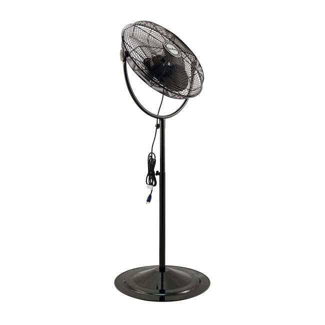 AK-9420-PA-U-A Air King 20 Inch 3 Speed 1/6 HP Adjustable Height Pedestal Fan (Open Box) 2