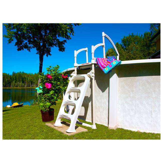 5-CLASSIC 6003 Hollowell Industries 6003-DB Classic Pool Ladder from the Makers of Doughboy 1