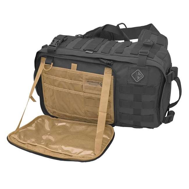 BKP-SWTC-BLK Hazard 4 Tactical Gear Sidewinder Full Sized Laptop Sling Pack Backpack, Black 1