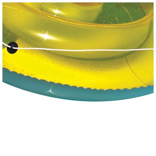 9050 Swimline 9050 Swimming Pool Sun Tan Lounger Island Float Inflatable 3