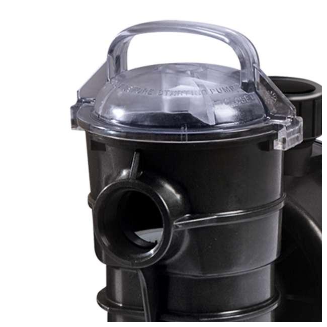340189 Pentair 340189 DYNII-N1 Dynamo 1 HP 115V 1 Speed Above Ground Pool Pump w/ Cord 1