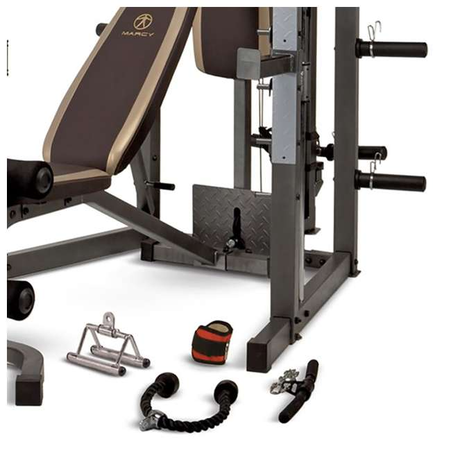 SM-4008 Marcy Combo Smith Strength Home Gym Machine 5