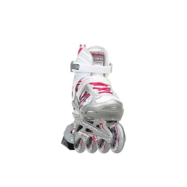 0T817200T1C-S Rollerblade Bladerunner Phoenix Girls Adjustable Skate, Size 1-4 3