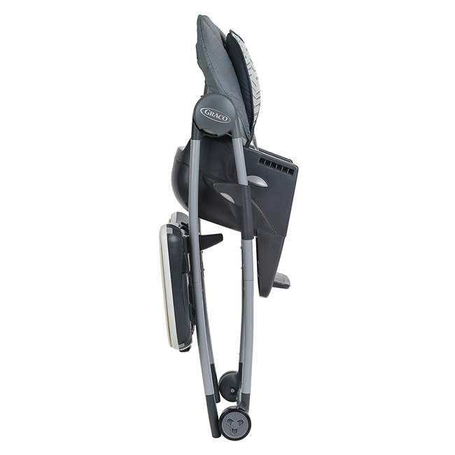 2022439 Graco 2022439 Table2Table Preimier Fold 7 in 1 Adjustable Highchair, Landry Gray 1