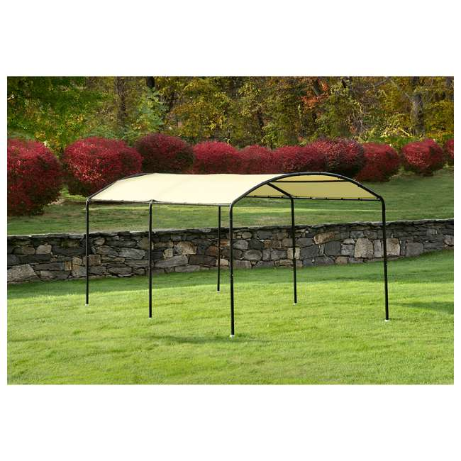 25867 ShelterLogic 25867 18 x 10-Foot Monarc Series All-Purpose Canopy, Sandstone 4