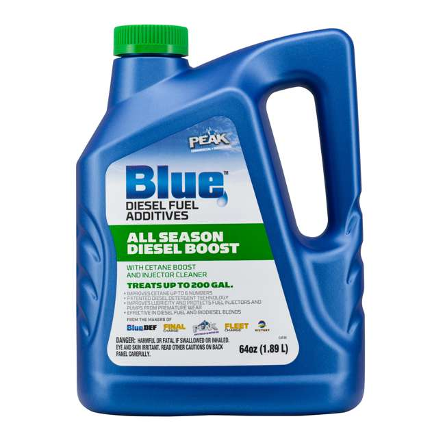 BDASDB64 PEAK Blue 64 Ounce Liquid All Season Cetane & Mileage Booster for Diesel Engines