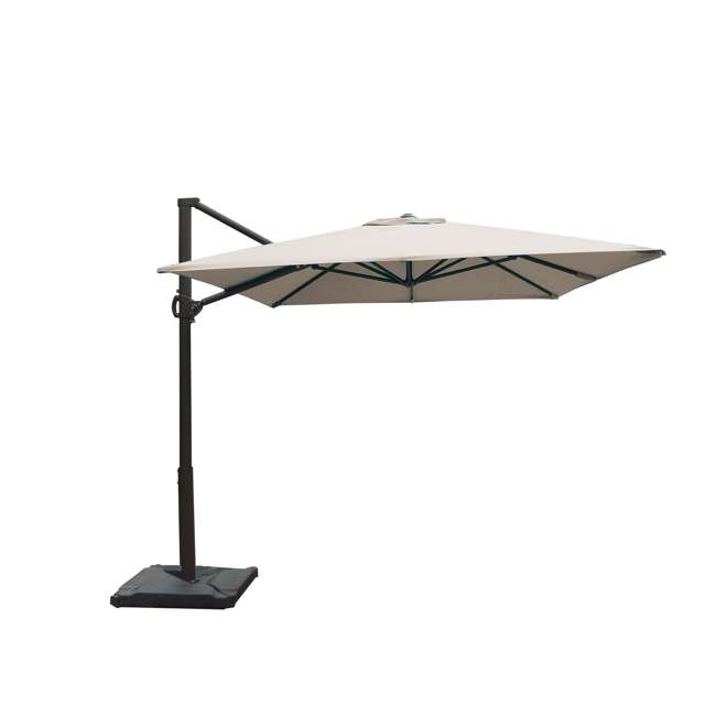 APNRC810SC Abba Patio 8 x 10 Feet Rectangular Umbrella, Sand 5