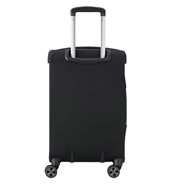 "40229180500 DELSEY Paris 21"" Expandable Spinner Upright Hyperglide Carry On Luggage, Black 1"