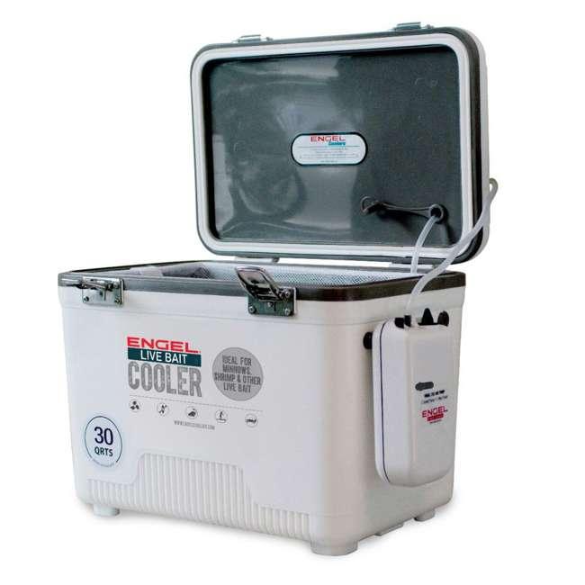 4 x ENGLBC30-N Engel 30 Quart Live Bait Dry Box Cooler (4 Pack) 1