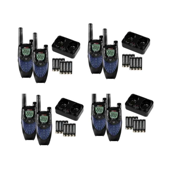 4 x CXT425 (8) COBRA CXT425 MicroTalk 25 Mile 22 Channel 2-Way Radios Walkie Talkies w/NOAA